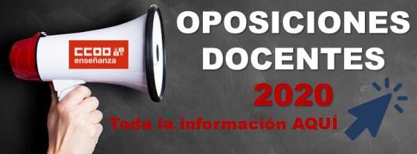 ¡NUEVO PLAZO! Oposiciones 2020 CyL . Secundaria y otros cuerpos. Convocatoria