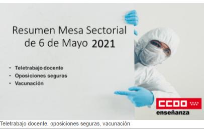 Exigencia de medidas COVID para las  oposiciones seguras en Madrid