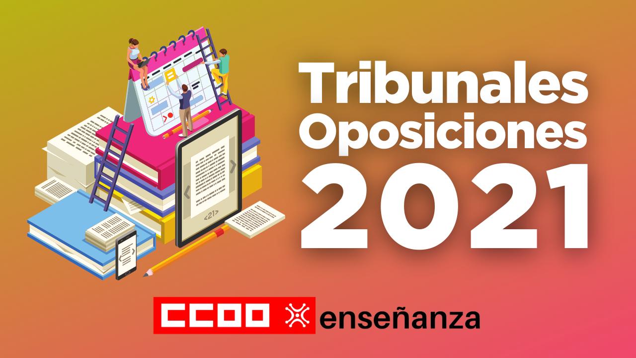 Publicación Listados Definitivos Tribunales Oposiciones 2021