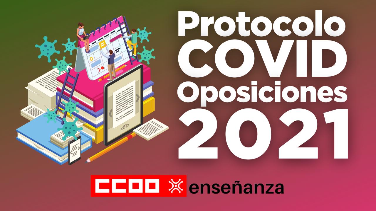 Protocolo COVID para las Oposiciones 2021