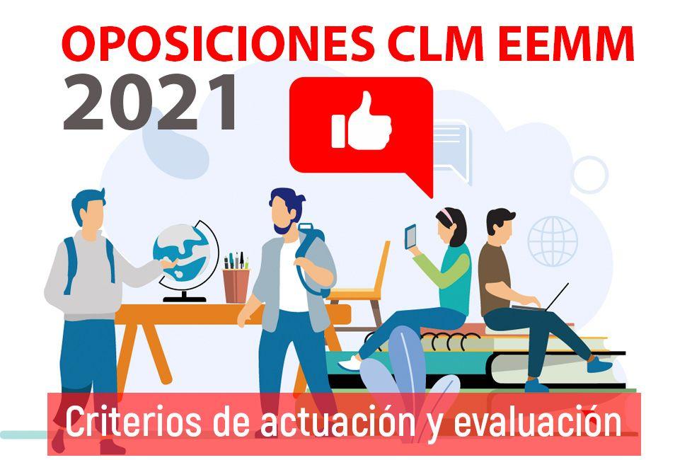 Criterios de actuación y evaluación correspondientes a las especialidades convocadas en los procesos selectivos 2021 (08/06/2021)